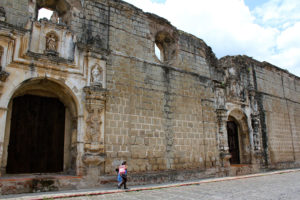 convento santa clara antigua guatemala
