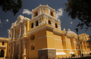Las Merced Church Antigua Guatemala