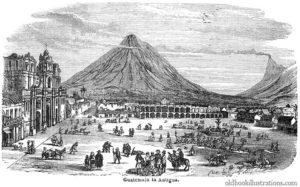 old image of antigua guatemala